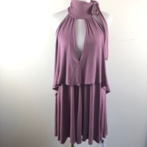 Free People FP Beach Sleeveless Halter S Dress
